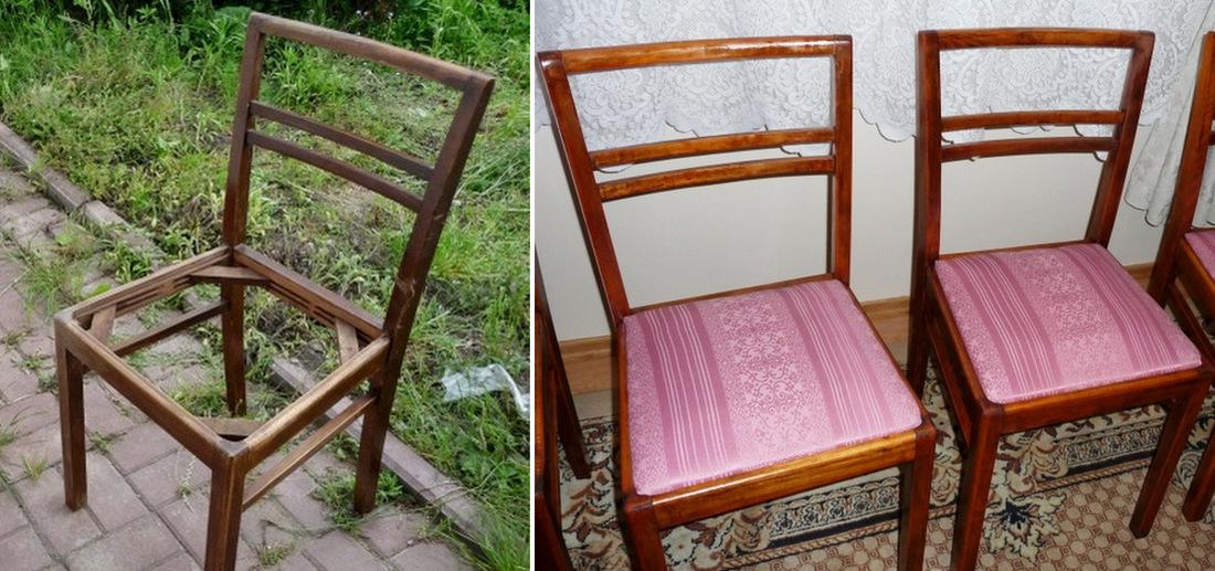 jak odnowić stare krzesła, lakierobejca malowanie, wymiana tapicerki samodzielnie - haart.pl blog diy zrób to sam