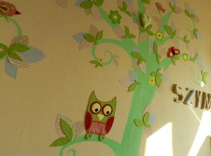 drzewo dekoracja pokoju HAART