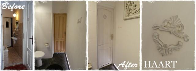 remont łazienki, drzwi i drewniane dekory