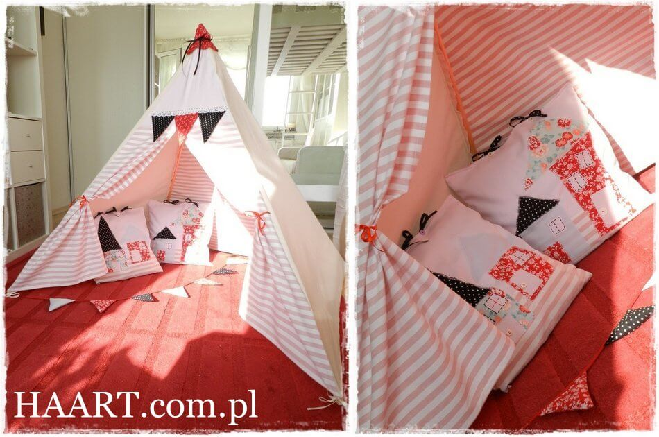 namiot do zabawy dla dziewczynki, dla dziecka