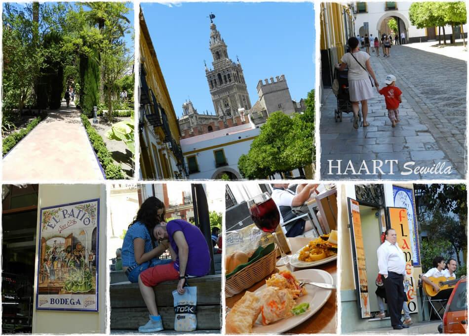 sewilla andaluzja hiszpania spacer po mieście z dzieckiem