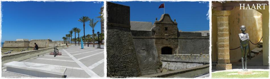 castillo de santa catalina, cadiz