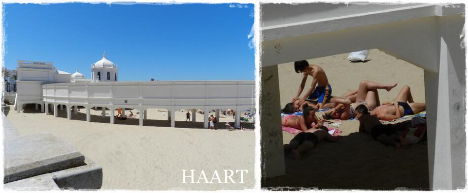 hiszpańska plaża, opalanie