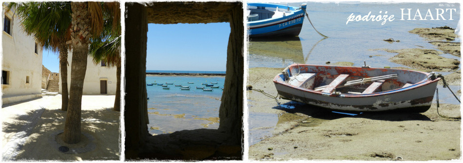 odpływ na plaży w andaluzji, hiszpania