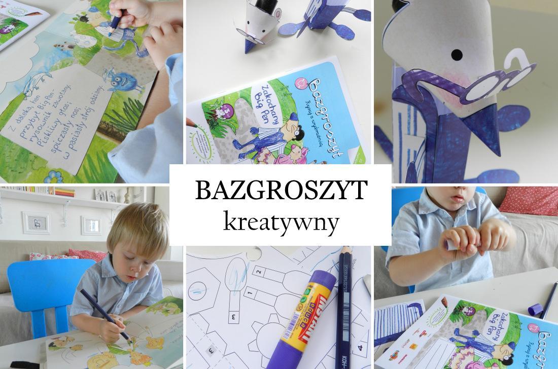 bazgroszyt, zabawy z dzieckiem, kreatywne pomysły - haart.pl blog diy zrób to sam