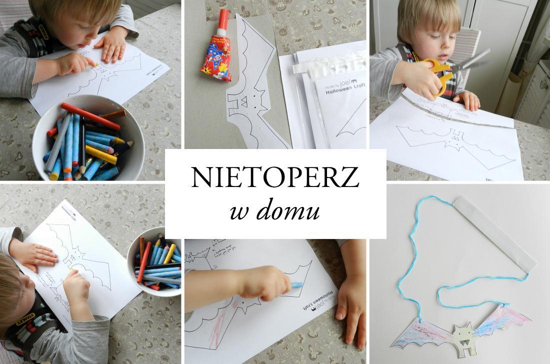 nietoperz w domu, zabawy z dzieckiem, zabawki, poradnik, manual - haart.pl blog diy zrób to sam