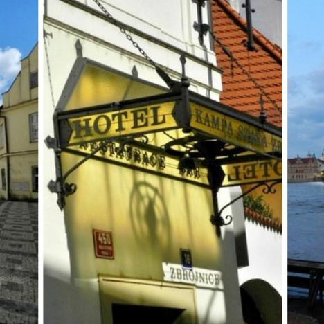 Hotel KAMPA w Pradze