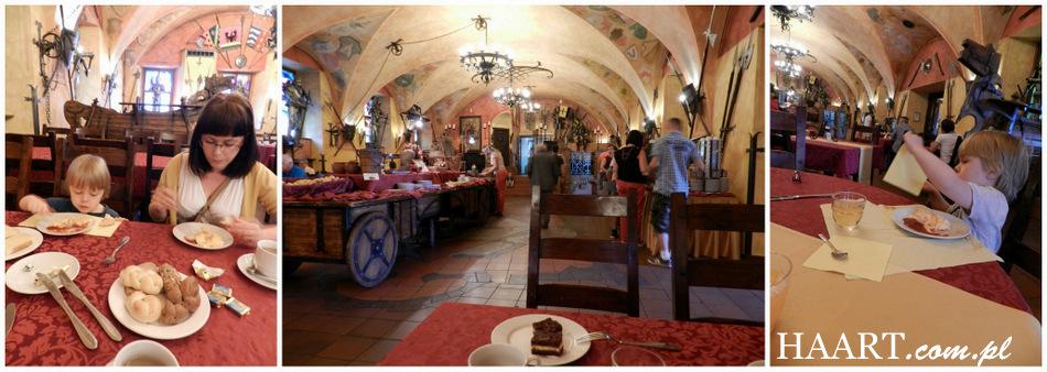 hotel kampa praga praha - sala śniadaniowa jedzenie obiad hanna kozłowska - haart.pl blog diy zrób to sam 5