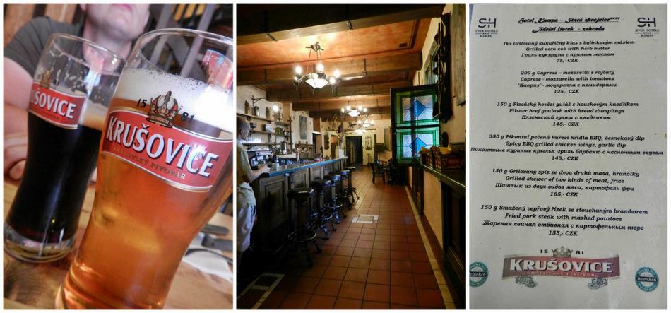 hotel kampa praga praha - krusovice bar piwo cennik - haart.pl blog diy zrób to sam 8