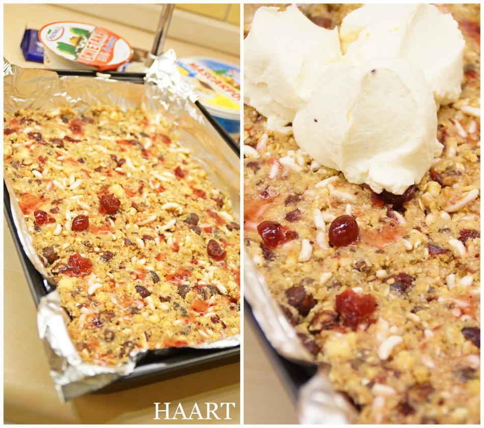 deser z mascarpone ciasto bez pieczenia żurawiny płatki owsiane przepis kuchnia gotowanie recipe - haart.pl blog diy zrób to sam 1