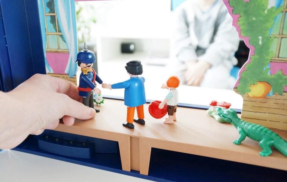 playmobil teatrzyk dla dzieci figurki