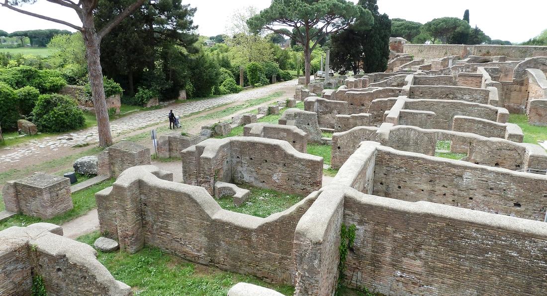 Ostia Antica - zaginione starożytne miasto pod Rzymem, warte zobaczenia