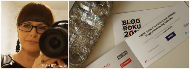 Blog roku 2013 - gala wręczenia nagród i nominacja dla HAART