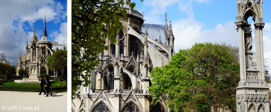 Paryż, park w centrum miasta