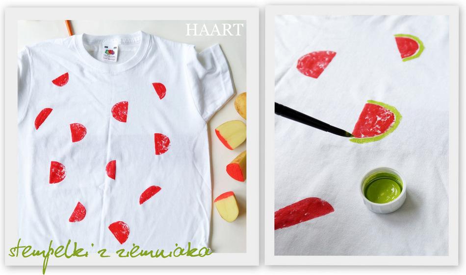 ea4445320 Zostaw koszulkę do wyschnięcia. malowanie na tkaninach, t-shirt,  podkoszulka, farby do tkanin, pędzel,