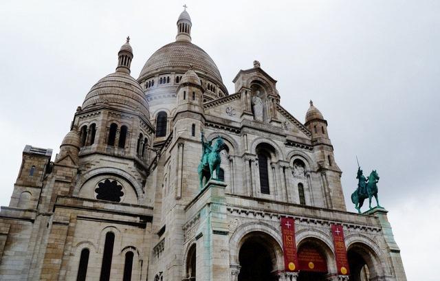 Paryż Montmartre, bazylika sacre coeur