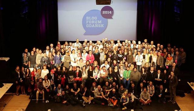 blog forum gdańsk 2014, teatr szekspirowski, zjazd, spotkanie, konferencja, uczestnicy, scena - haart.pl blog diy zrób to sam 2