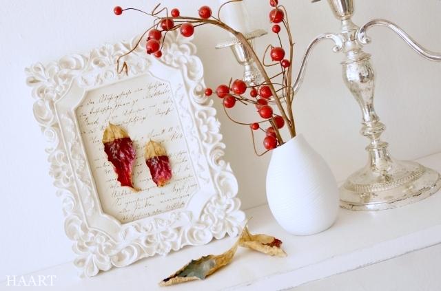 malowanie liści, liście, dekoracja - haart.pl blog diy zrób to sam 5