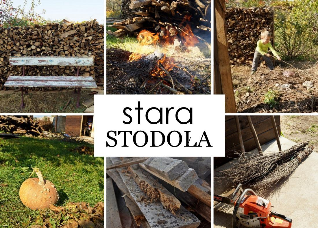 Stara stodoła zmieniła się nie do poznania - powstał taras, wiata i szopka.