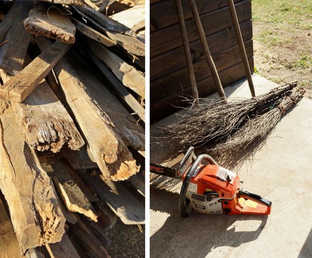 stara stodoła, remont domu na podlasiu, drewno, piła spalinowa - haart.pl blog diy zrób to sam 4