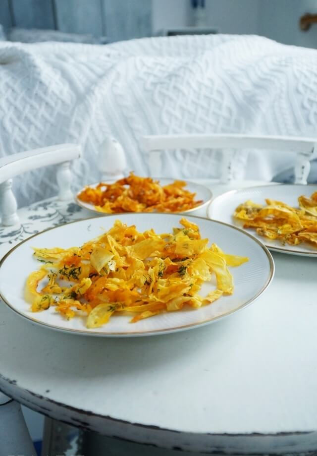 chipsy z dyni, wegetariańska przekąska dla dzieci, z przyprawami, przepis diy