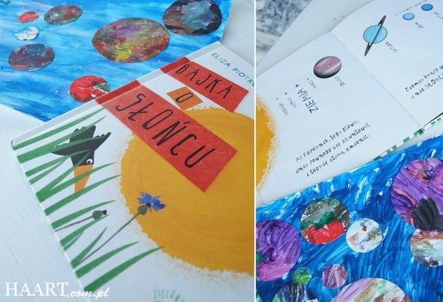 bajki o planetach, czytanie i malowanie z dzieckiem, zabawy bez zabawek