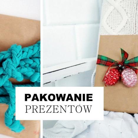 Pakowanie prezentów DIY HAART