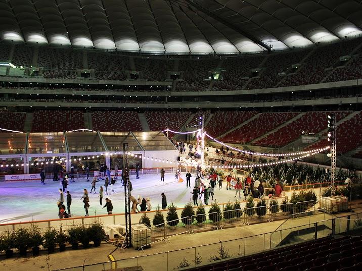 stadion narodowy, zimowy narodowy, lodowisko