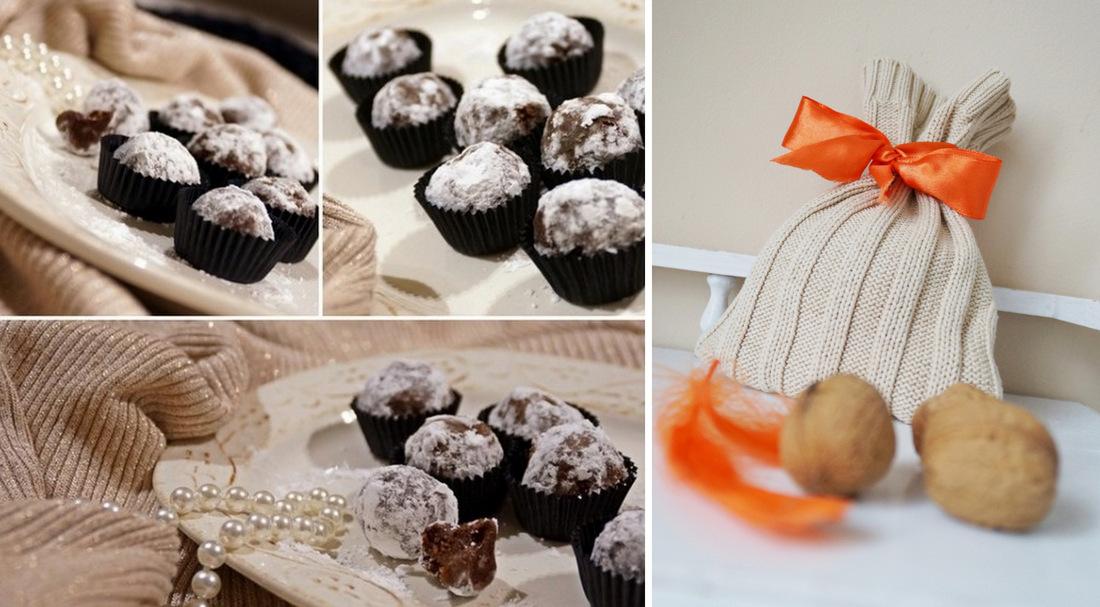 trufle świąteczne z bailey's, wafle, masło, herbatniki, kakao, gorzka czekolada, pralinki, cukier puder, święta, boże narodzenie - haart.pl blog diy zrób to sam