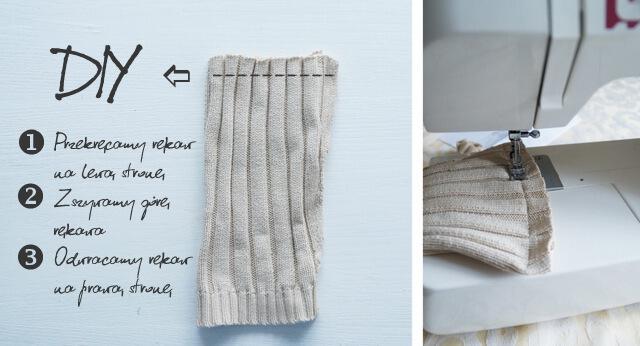 instrukcja, woreczek z bawełny na prezenty