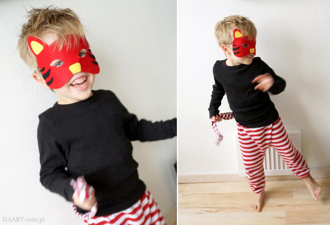 Strój karnawałowy dla dziecka DIY - prosta instrukcja zrób to sam HAART