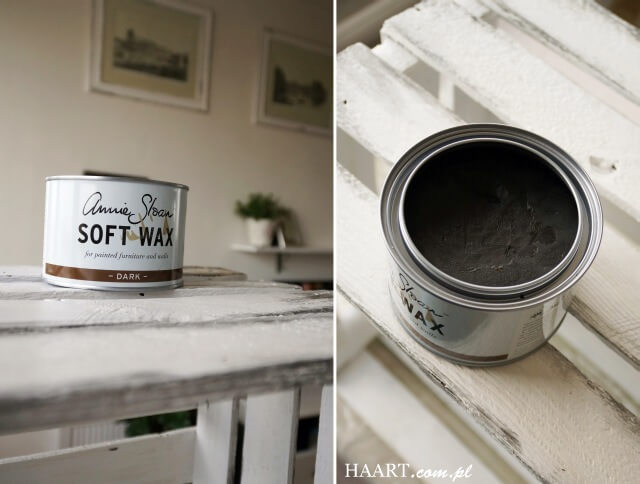 annie sloan soft wax do malowania drewna