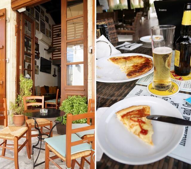 cypr, pizzeria w larnace