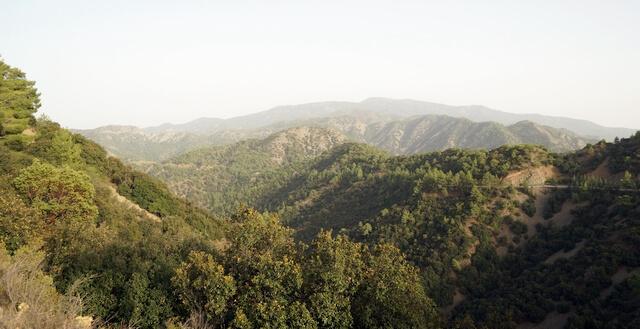 cypr, góry wysokie, wakacje na własną rękę