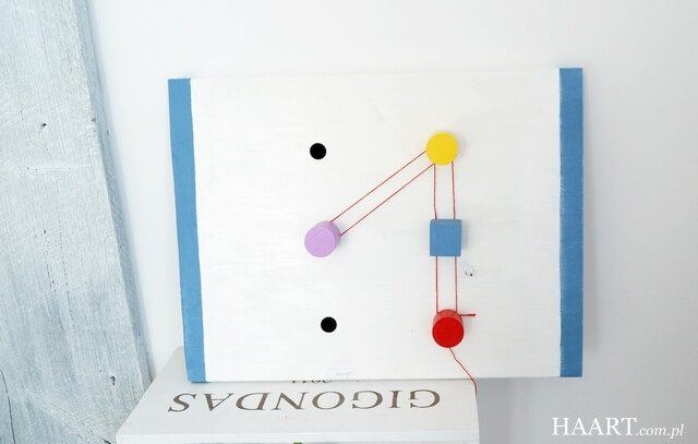 rzepy tesa, edukacyjna tablica diy do nauki liczb, cyfr, literek