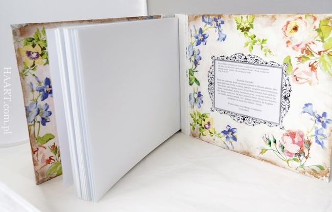 księga gości weselnych, wesele, ślub, decoupage, personalizacja, album na zdjęcia, autografy, życzenia, krok po kroku, instrukcja - haart.pl blog diy zrób to sam 5
