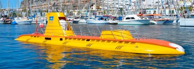 łódz podwodna Wyspy Kanaryjskie Gran Canaria