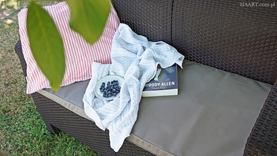 meble ogrodowe do wypoczynku, sofa z technoratanu