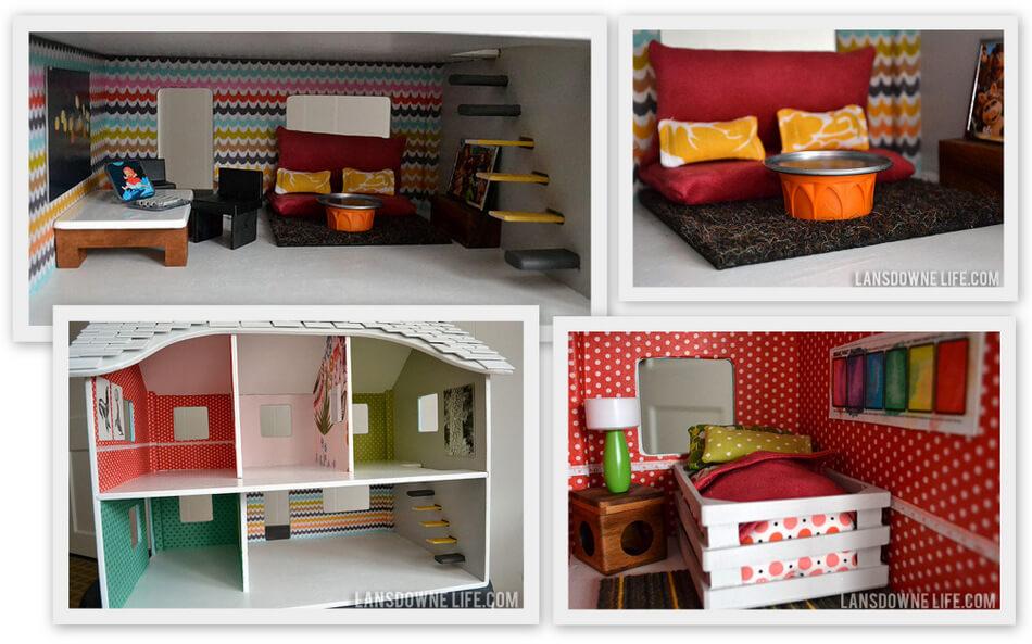 domek dla lalek 10 pomysłów diy