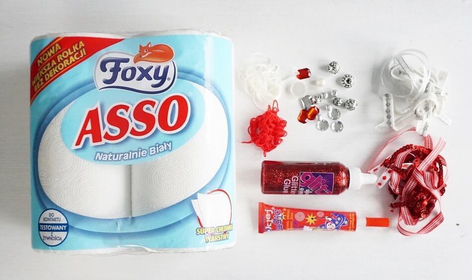 ręczniki papierowe foxy asso do prac diy