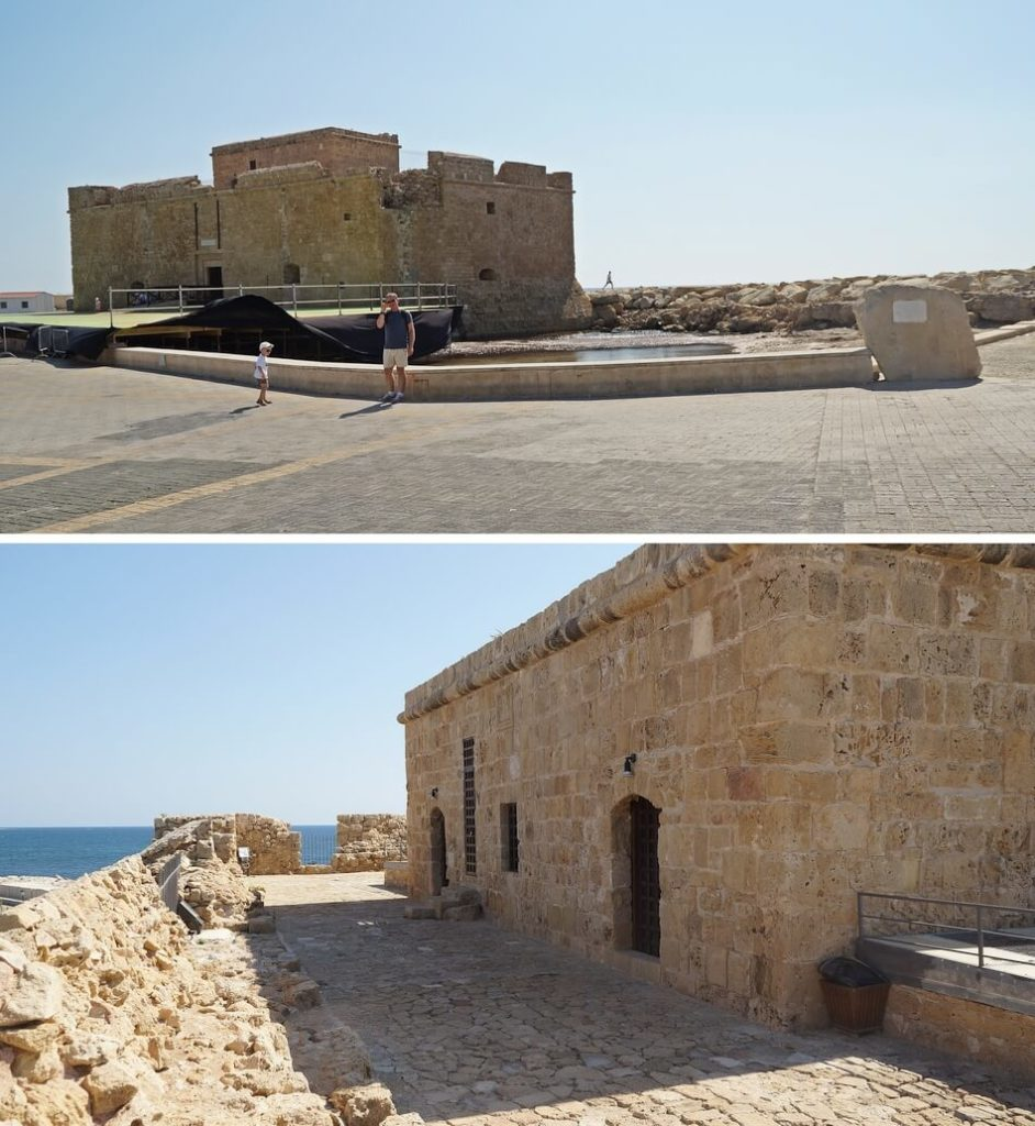 fort nea pafos na cyprze