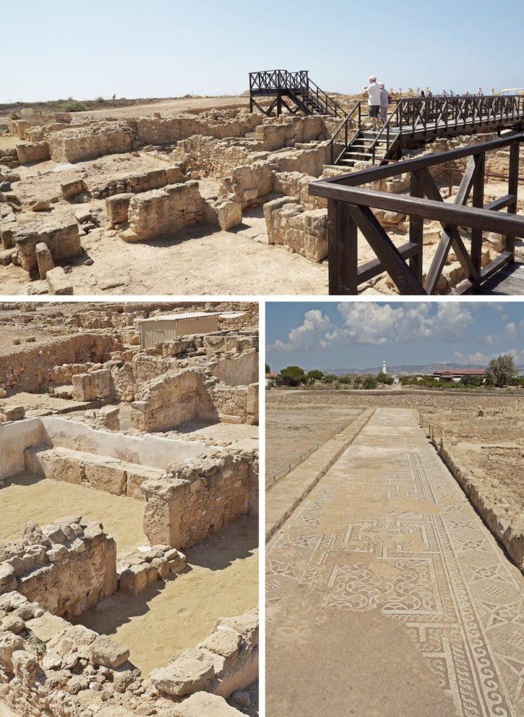 cypr co zobaczyć, kato pafos, park archeologiczny
