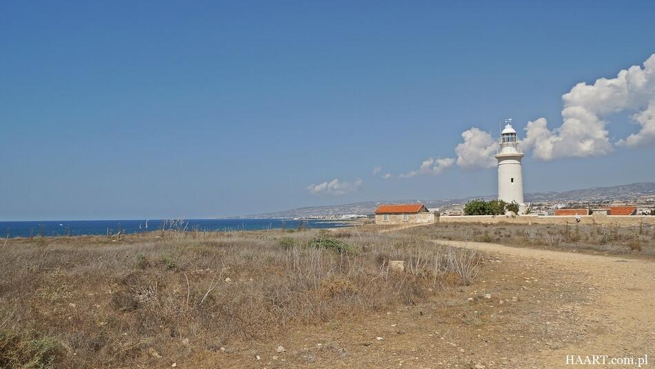 latarnia morska w kato pafos na cyprze