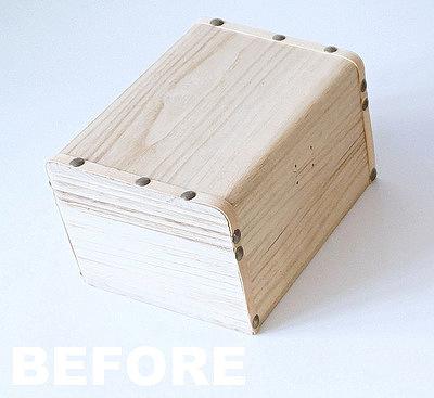decoupage krok po kroku, drewniana skrzyneczka - haart.pl blog diy zrób to sam 1