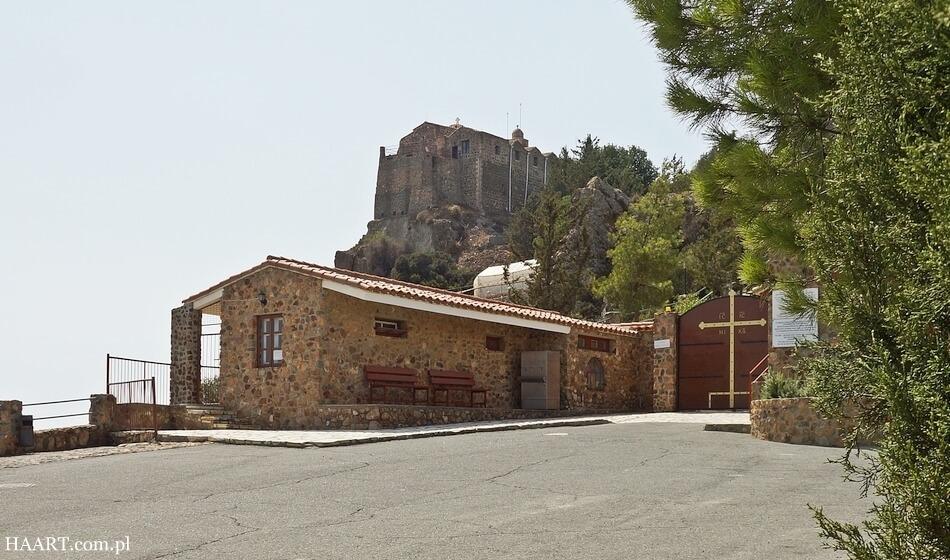 klasztor stavrovouni, góry troodos na cyprze