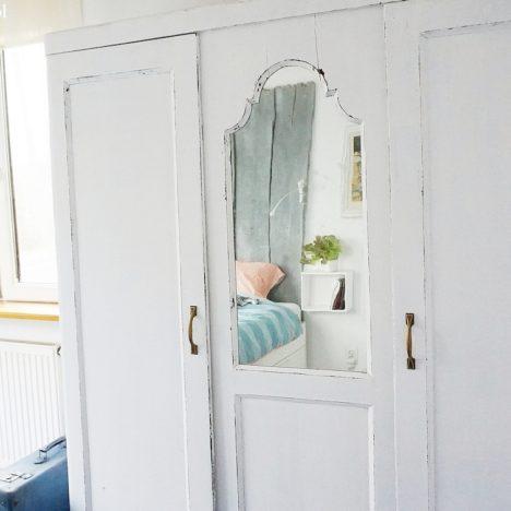 odnowić starą szafę