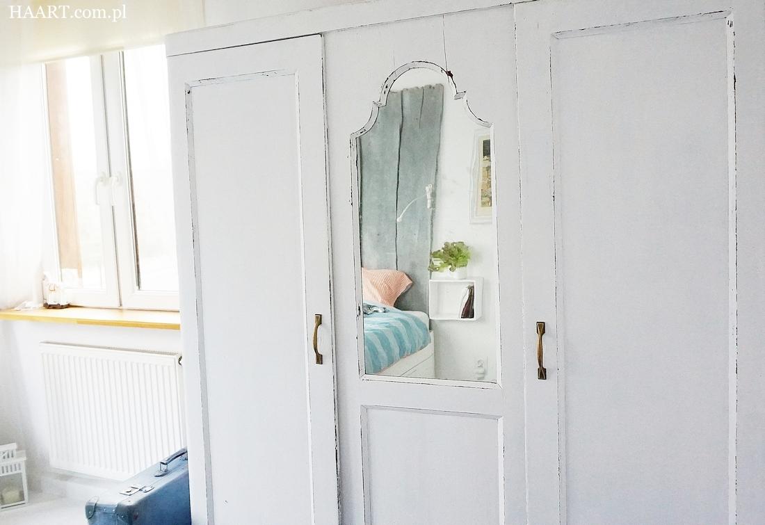 jak odnowić starą szafę, instrukcja krok po kroku, potrzebne materiały - haart.pl blog diy zrób to sam
