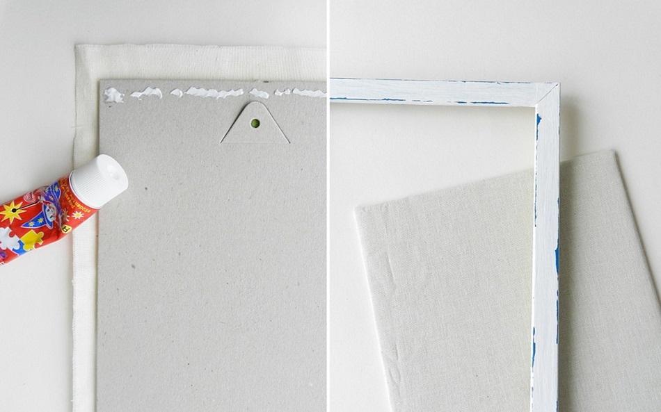 stojak na biżuterię, instrukcja krok po kroku, biała bawełna, wycinanie kształtu - haart.pl blog diy zrób to sam 4