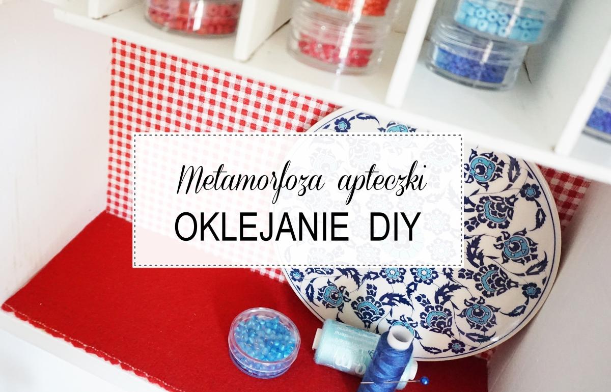 oklejanie tkaninami, renowacja mebli, odnawianie, filc, lakier do paznokci, farba akrylowa instrukcja krok po kroku - haart.pl blog diy zrób to sam