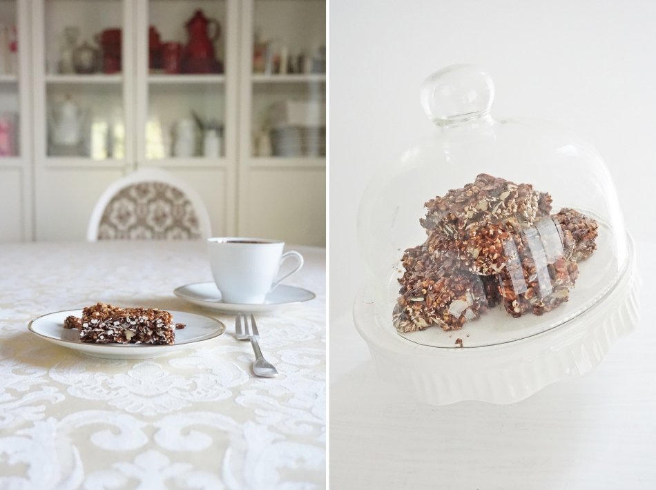 czekoladowe batoniki owsiane, zdrowe słodycze, jedzenie dla dziecka, proste gotowanie, przepis na, kuchnia - haart.pl blog diy zrób to sam 1